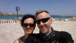 Otranto mit Bick auf den Hafen